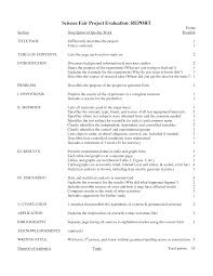 Template For Science Fair Project Science Fair Projects Research Paper 349931 Project Outline Template