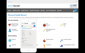Personal Health Record Webmd Health Services