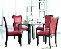 Fascinating Red Dining Room Painted Walls Cherry Sets Cedar Table Best Red Dining Rooms Collection