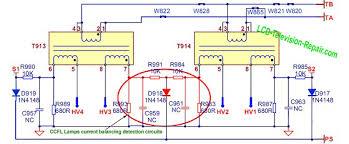tv backlight inverter board. lcd tv inverter schematic diagram backlight board o