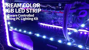 dream color pc case rgb led strip