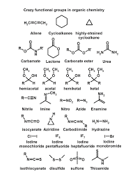 functional groups chart crazy functional groups organic chemistry made easy by