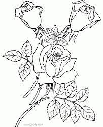 special offer free coloring papers printables dwcp free coloring pages sheets of roses 007