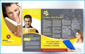 school brochure design ideas best images of educational brochure templates fold handout