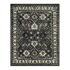 safavieh vintage hamadan dark grey and ivory indoor area rug lowe s canada