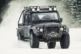 One Of 10 Built And Eight Extant Land Rover Defender SVX For The  Filming S