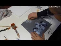 DIY Déco : Tableau déco photo de famille - YouTube