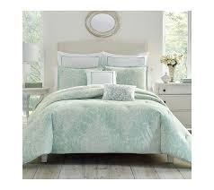 Intelligent Design Natalie 5 Piece Comforter Set Laura Ashley Ushs8k1046715 Maddox 7 Piece Comforter Set Full Queen Lt Pastel Blue