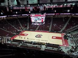 South Carolina Basketball Arena Seating Chart Colonial Life Arena Section 221 South Carolina Basketball