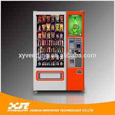 Fruit Vending Machines Custom Interactive Vending Machine With Belt Conveyor Belttouch Screen