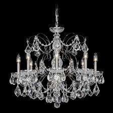 schonbek century 8 light chandelier reviews wayfair