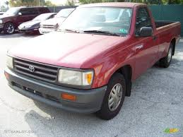 1993 Dark Red Mica Toyota T100 Truck Regular Cab #32391861 ...