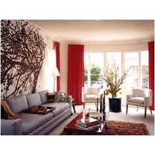 living room red curtains living room