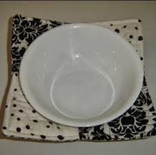 Microwave Bowl Holder Pattern Interesting Microwave Bowl Holder AllFreeSewing