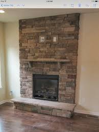 hanging tv above stone fireplace image collections norahbent