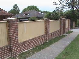 Small Picture brick wall fence design ideas Google Search House Decorations