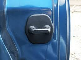 these door striker covers are used to hide the ugly striker mounting bolts offering that finishing touch to your z installation is simple just slide over