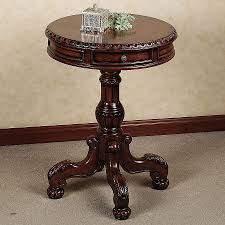 ravishing round wood accent table small glass top end tables amazing with furniture high qual
