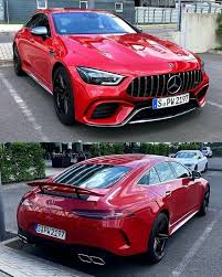 Drive the 63 and the 63 s back to back, however, and you can quickly tell them apart. Beautiful Red Gt63s Mercedes Car Mercedes Amg Gt S Mercedes Jeep