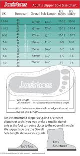 Joes Toes Faqs And Size Chart