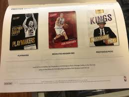 2017 18 prestige basketball is offered exclusively to panini america round table brick mortar s for national distribution on wednesday february 21st