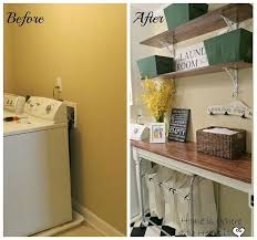 laundry room makeovers charming small. Blah To Charming Laundry Room, Flooring, Rooms, Shelving Ideas, Wall Decor Room Makeovers Small S