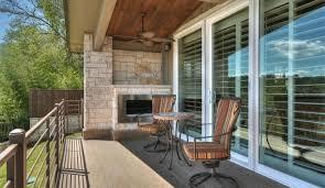 exterior view plantation shutters for sliding glass doors austin 78758