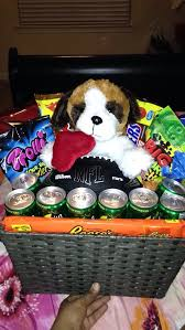 valentine s day gift basket for boyfriend