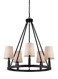 franklin iron works oil rubbed bronze ribbon chandelier 48298