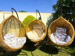 haven t you always wanted a swing basket chair well here it is and these guys will deliver it to you