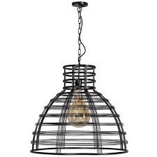 Zwarte Moderne Hanglamp Molfetta En Barletta Van Zwart Draad Metaal