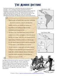 best monroe doctrine ideas us history teaching  monroe doctrine primary source analysis