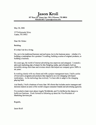 Proper Format For Cover Letter The Letter Sample