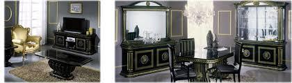 italian high gloss furniture. Black-italian-dining-furniture-sets. High Gloss Italian Furniture E