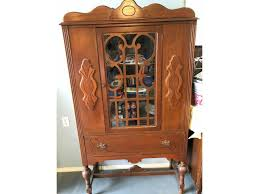Wake County Library China Hutch Roll Top Desk Library Table In Granbury Hood