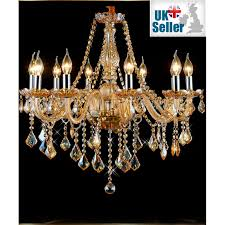 black crystal chandelier 10 arms