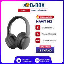 Tai Nghe Bluetooth Headphone HAVIT i62, Driver 40mm, BT 5.0, Nghe Đến 8H,  Gập Gọn - Chính Hãng BH 12T - Tai Nghe Bluetooth Nhét Tai
