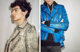 john elliott teams with blackmeans on leather jackets
