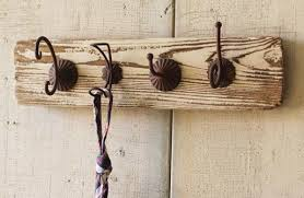Rustic Wall Coat Rack Beauteous WallmountedcoatrackSpacesRusticwithAntiqueWallCoatRack