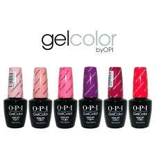Opi Gel Color Chart 2016 Opi Gelish Nail Polish Color Chart Futurenuns Info