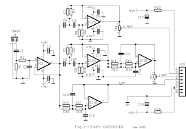 3 way active crossover circuit diagram wiring diagrams 3 way active loudspeaker eng schematic of the active 3way filter