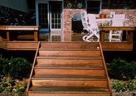 Image of deck stairs design