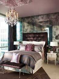 All photos. purple and silver bedroom ...