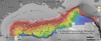 Gulf Coast Nautical Charts New Seafloor Map Reveals How Strange The Gulf Of Mexico Is