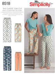 Simplicity Simplicity Pattern 40 Girls' And Misses' Slim Fit Extraordinary Simplicity Patterns