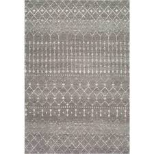 blythe dark grey 4 ft x 6 ft area rug