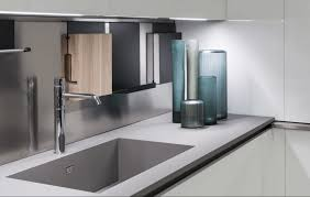 Fenix Ntm Kitchen Countertop Integrated With Sink Remodeling Cost