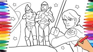 Your child's imagination will unite them with the characters like anakin skywalker, darth vader, luke skywalker, padme amidala, yoda, princess leia organa, darth maul, han solo and chewbacca and more. Star Wars Coloring Pages Drawing And Coloring Stormtroopers Star Wars Mandalorian Youtube