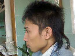 Korean Hair Style Boys semi mohawk hairstyle mohawk hairstyles for asian men mens 5672 by wearticles.com