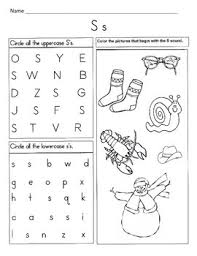 These free phonics worksheets explore the different ways that letters may sound. 5 Letter S Worksheets Alphabet Phonics Worksheets Letter Of The Week